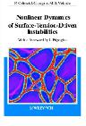 Nonlinear Dynamics of Surface-Tension-Driven Instabilities