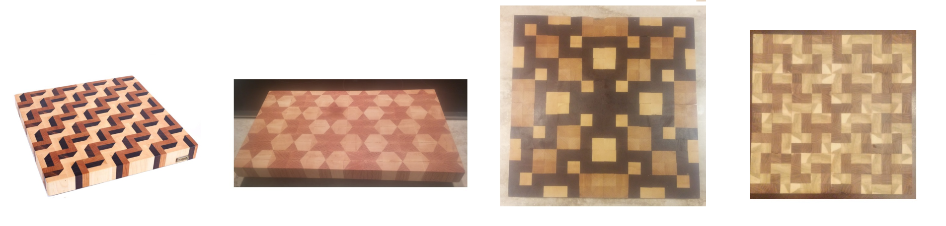 Mathematics on the chopping block for Puzzle cutting board plans